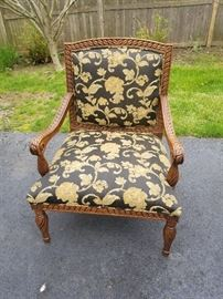 DOMAIN  PAISLEY PATTERN CHAIR  160.00