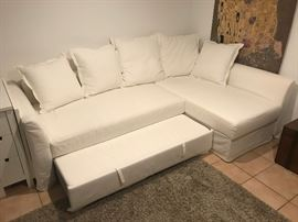 Ikea sofa bed.