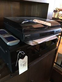 1 Sony turntables - like new Denon receiver I believe - several