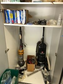 Vacuums and Vacuum bags