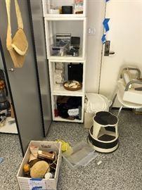 Soap , Perfume, step stools