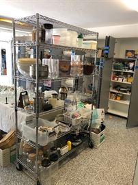 More kitchen supplies