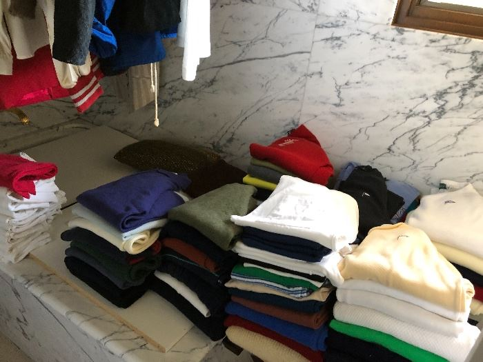 clothes - so much!