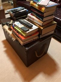 Nautical trunk and so many books!