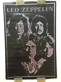 VINTAGE 1960's and 1970's POSTERS - MANY NEW - STILL SEALED !   LED ZEPPELIN