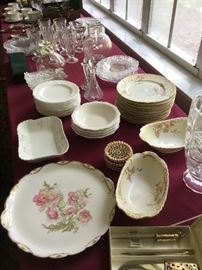 Limoges & Misc china and crystal