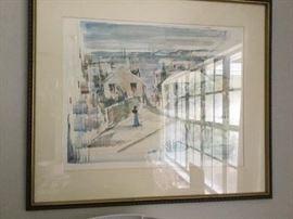 Alfred Birdsey watercolor