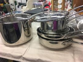 Grande Gourmet Cookware with Lids