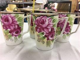 Set of 4 cups - Nippon