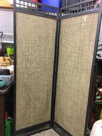 Decorative divider screen