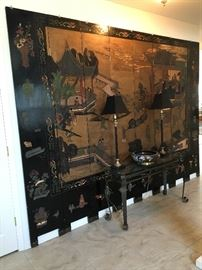 8-Panels Asian Room Divider