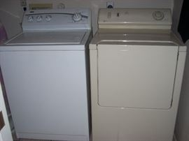 Washer,  and Dryer