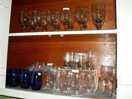 Lots of glassware