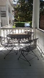 Patio furniture looks new