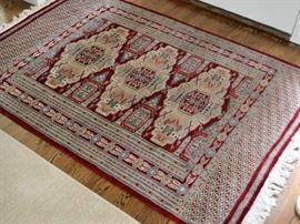 Oriental rug, approx. 4' X 6'