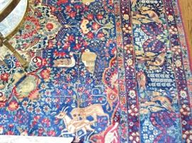 """Hand knotted Oriental rug, approx. 8'5"""" X 13'2"""""""