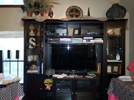 TV in this picture is not for sale and will be removed prior to the sale.