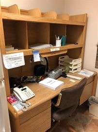Great Desk - Lots of cubbies to organize!