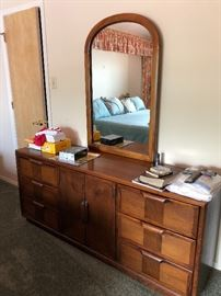 Matching Chest of Drawers & Mirror to King Bedroom set