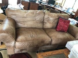 2 Identical Leather Couches