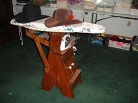 Tilting Iron Board