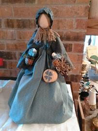 Vintage hand made doll