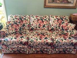 nice floral sofa
