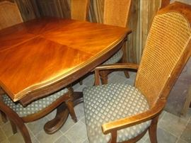 two armchairs and 4 side chairs