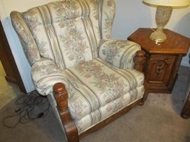 matching easy chair