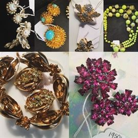 Various costume jewelry