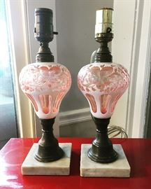 Whale oil lamps