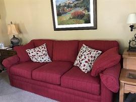 LazyBoy Sofa w/ pillows