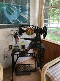 Vintage Sewing machine for boots or shoes