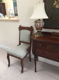 Vintage Eastlake side chair