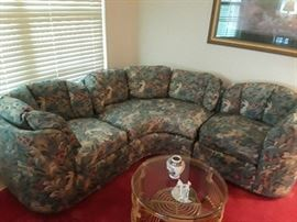 Henredon Sectional 3pc. perfect condition