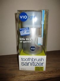 Sanitizer.  New in the box. Original price:  $55.  Discounts apply both days.