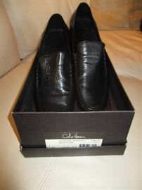 Cole Haan shoes.  Original price:  $90.  Discounts apply both days.