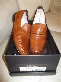 Cole Haan shoes.  Never worn.  Original price:  $90.  Discounts apply both days.