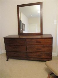 Bureau with mirror.  Originally priced $350.    Discounts apply both days.