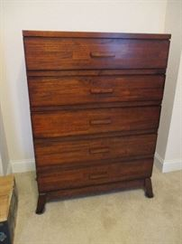 Matching chest of drawers.  Originally priced:  $250.  Discounts apply both days.