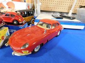 Vintage Friction Jaguar car