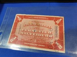 Antique Whisky tax stamps