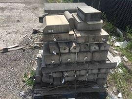 39 Pieces of Precast Concrete