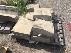 15 Pieces of Precast Concrete