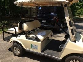 2004 GAS  CLUB CART