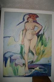 Original Oil on Canvas signed Wilhelm 1978 38x50