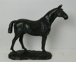 Japanese Bronze Horse