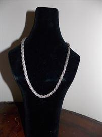 John Hardy .925 silver necklace
