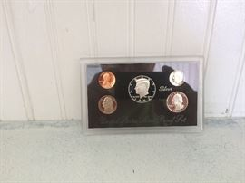 1992 .900 silver proof set