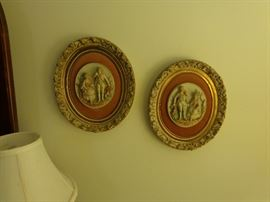 Antique Oval Wall Hangings